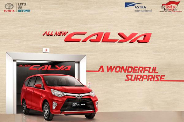 Spesifikasi Harga Kredit & Cicilan Toyota Calya Surabaya