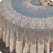 "Mantel ""Guzmania"" a Crochet"