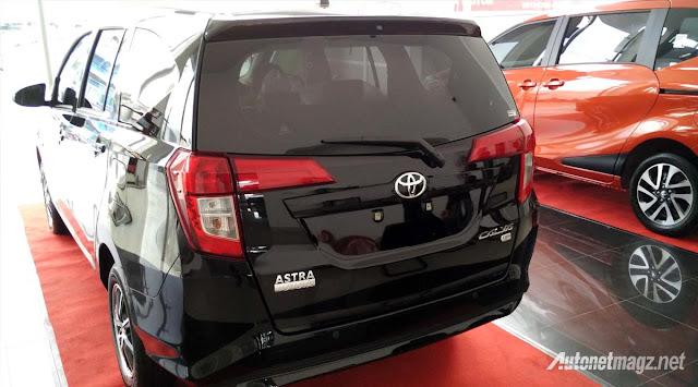 Toyota Calya mini MPV rear quarter in Images -  - Toyota Calya – MPV 7 chỗ giá siêu rẻ sắp ra mắt ở Indonesia