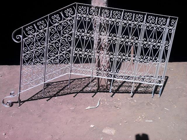 Rampe d'escalier de style Marocain