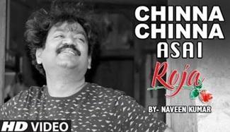 Roja – Chinna Chinna Asai || Instrumental Recreation of Roja By Naveen Kumar