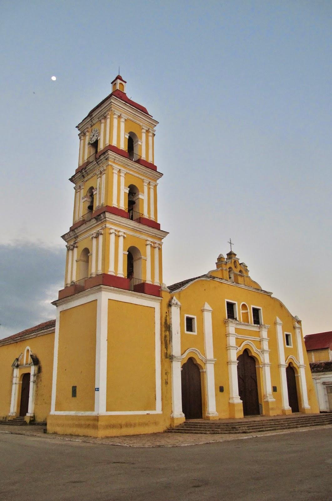 Iglesia de San Juan Bautista de Remedios, em Cuba.