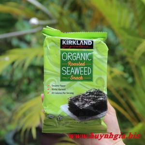 Rong biển Kirkland sản phẩm Organic của Mỹ
