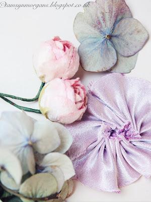 Pastel Velvet Flowers