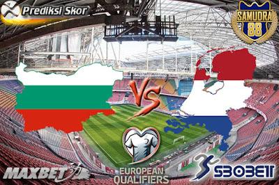 Prediksi Skor Bola Bulgaria vs Netherlands 26 Maret 2017