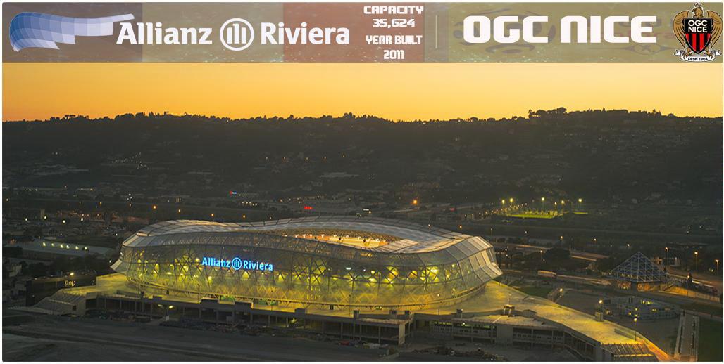 PES 2017 Allianz Riviera Stadium (OGC Nice) by NaN Riddle 08