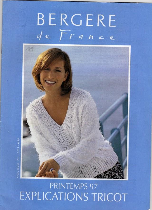 BERGERE De France-N°860-Revista Tricô