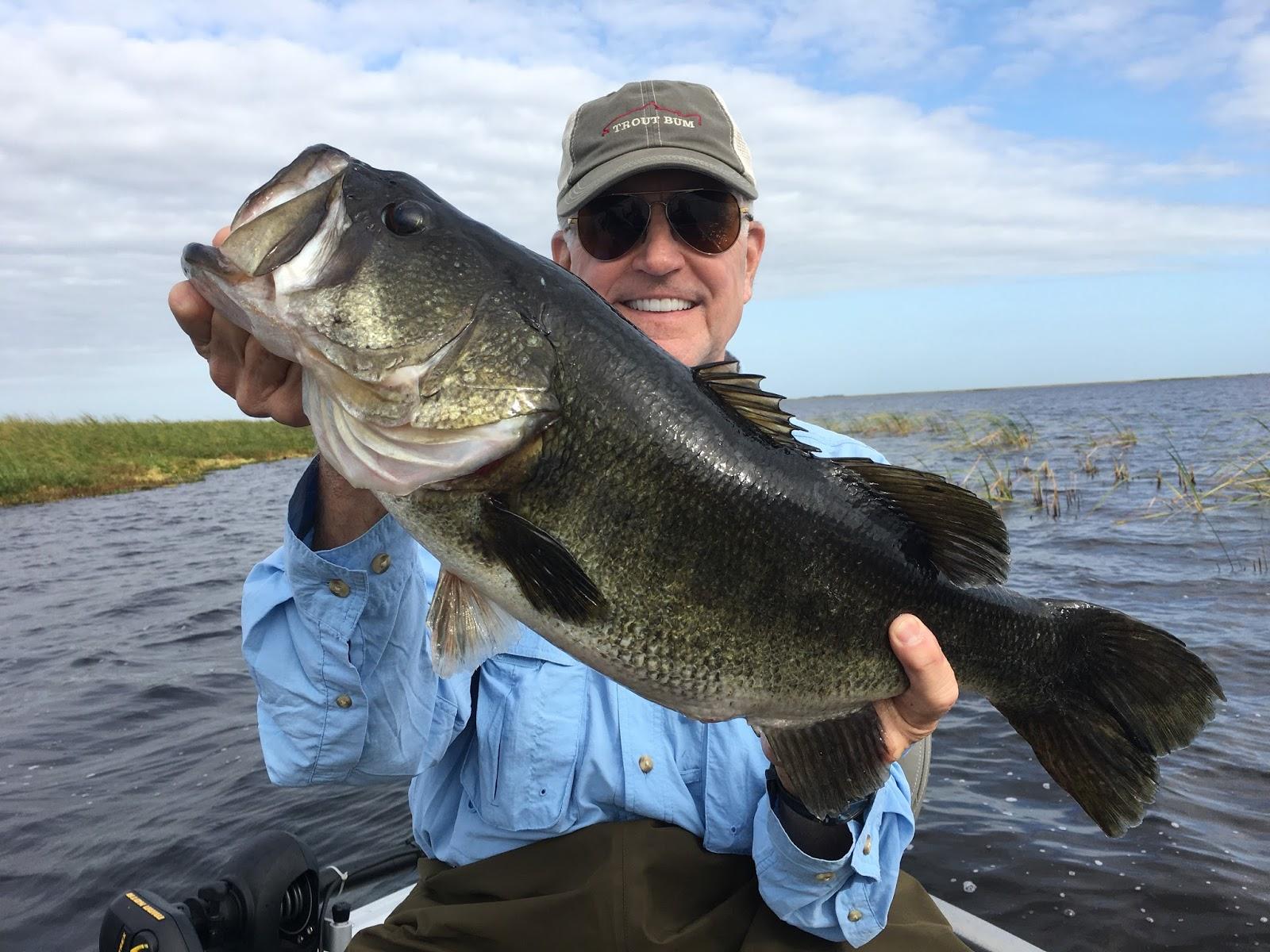 Okeechobee fishing report 12 17 2016 lake okeechobee for Bass fishing reports