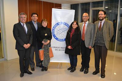 Asumió nueva directiva del Consejo Regional Bio Bio del Colegio de Periodistas