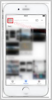 Delete iPhone Photos from Google Photos App