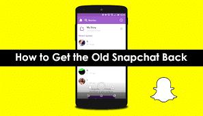 تحميل سناب شات القديم مجانا برابط مباشر Download Snap Chat 2018