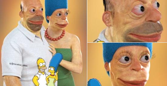 Simpsons da vida real - recriação de personagens divide opiniões