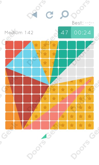 Cheats, Walkthrough for Blocks and Shapes Medium Level 142