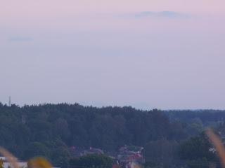Tatry z Kolbuszowej, 2016.08.11. 21:30 fot. Józef Świątek