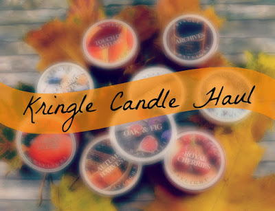 Kringle Candle Haul