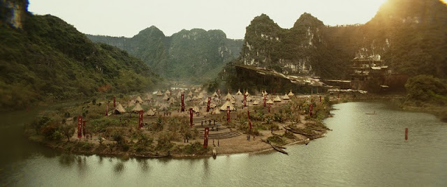 Vietnam's beautiful landscapes in Kong: Skull Island 1