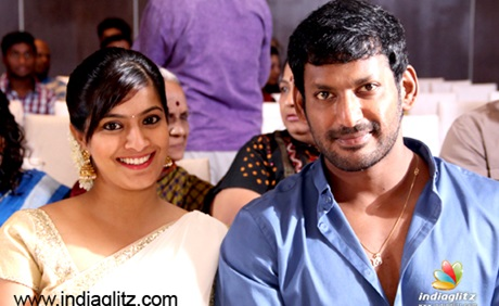 Varalakshmi Romance with Vishal Again!