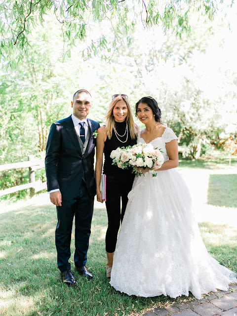 Niagara Wedding Planner - A Divine Affair - Kriselle and Andrew - Photo by Kurtz Orpia - Cathedral Ceremony with reception taking place at Kurtz Orchards Marketplace in Niagara on the Lake.
