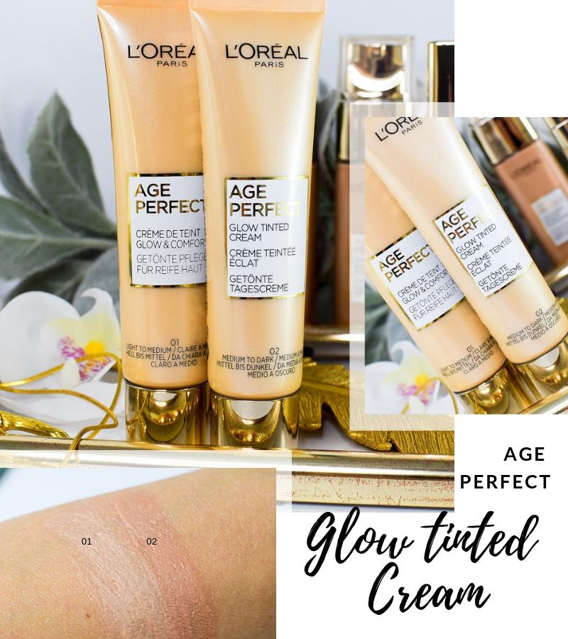 Übersicht und Test der L'Oréal Age Perfect getönten Tagescreme