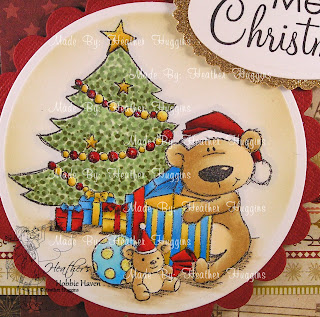 Heather's Hobbie Haven - Present Teddy Card Kit