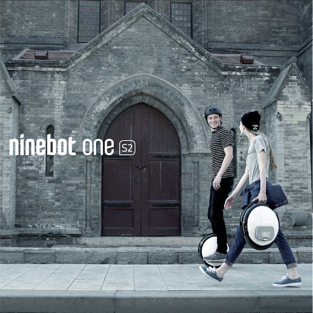 xe điện ninebot one S2 một bánh tự thăng bằng