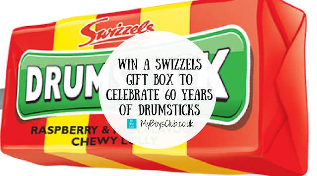 Win a Swizzels Gift Box to Celebrate 60 Years of Drumsticks