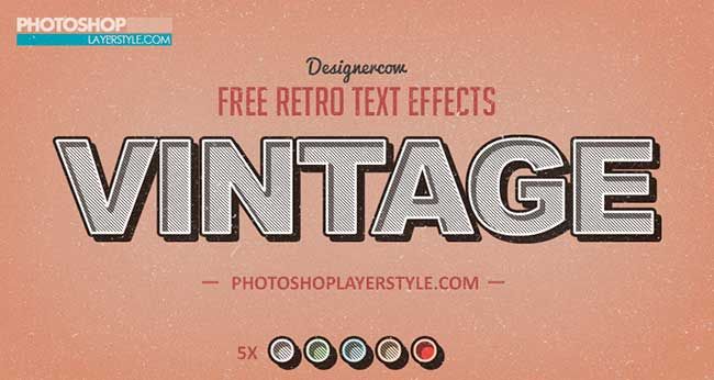 Free Photoshop Styles & Text Effects by Saltaalavista Blog
