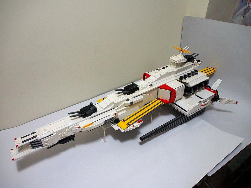 Gundam Guy Gundam Lego Earth Federation Battleship Ra Calium