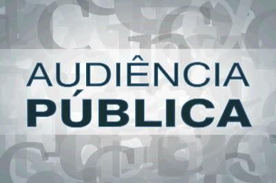 PPA e LDO serão temas de Audiências Públicas no dia 20 de abril.