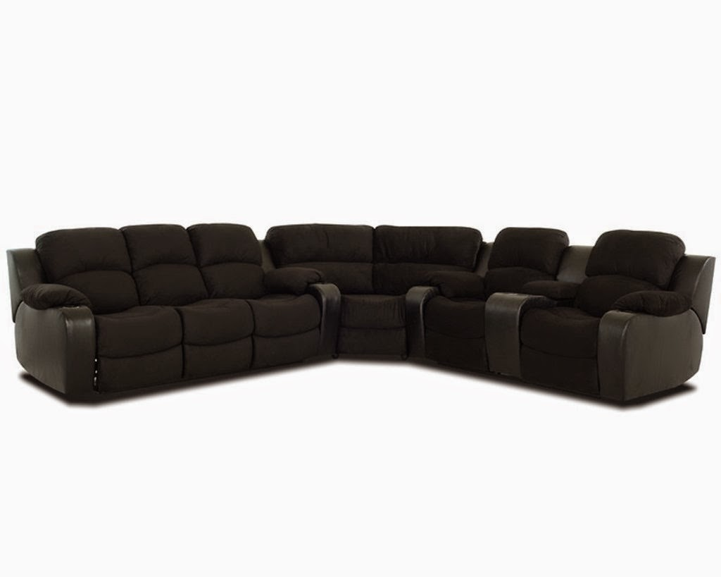 Sofa Loveseat: Phoeni Reclining Corner Sectional With Sleeper Sofa By