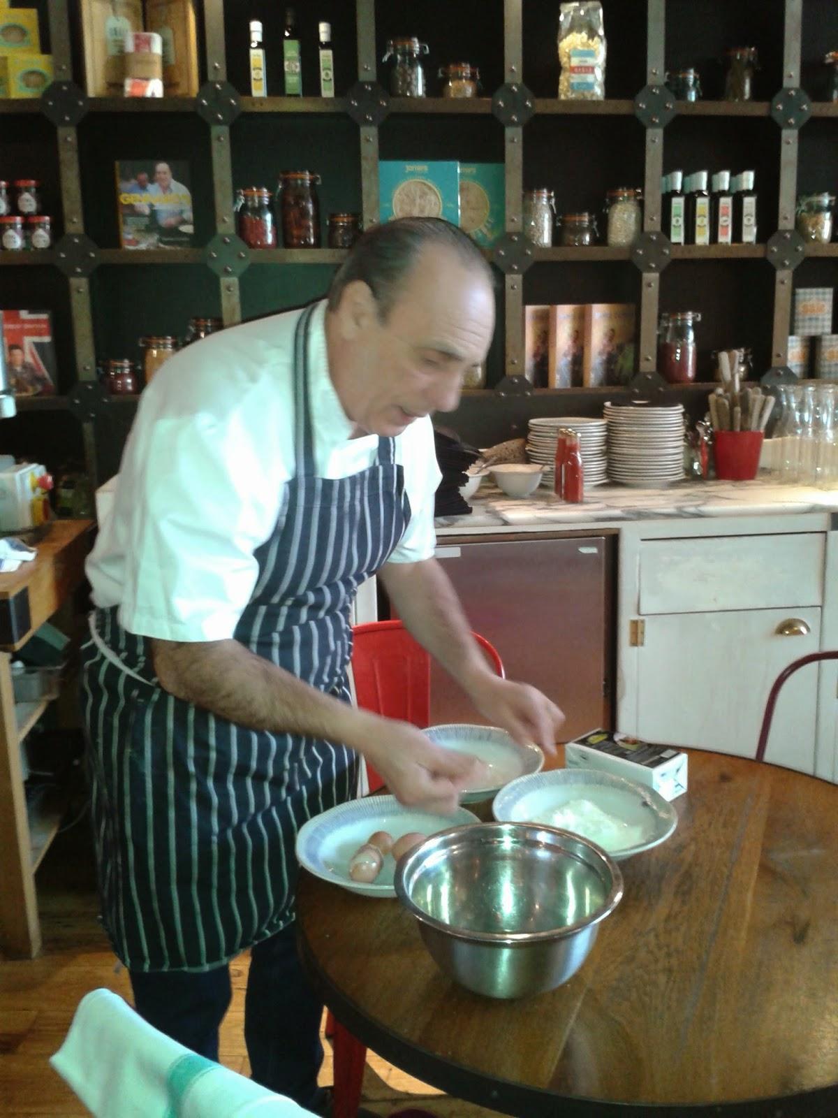 Gennaro Contaldo making pasta
