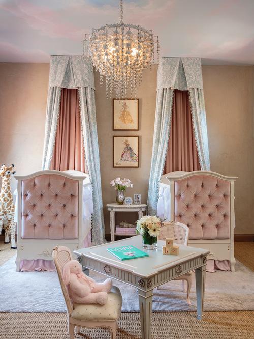 Rideau Bleu Chambre Bebe : Idée déco chambre bébé jumeaux  Bébé et décoration  Chambre