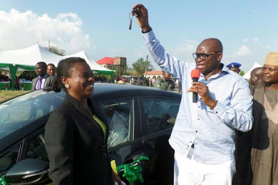 fayose buys 60 cars for politicians