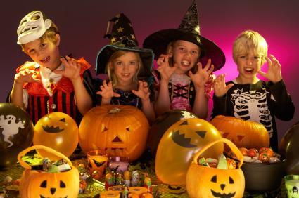 juegos para una fiesta de halloween a derrochar creatividad y divertirse en familia