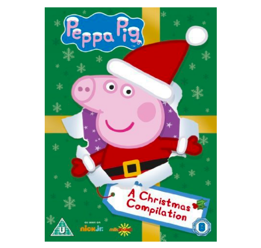 Christmas Eve Box Ideas for a One Year Old  - Peppa Pig Christmas DVD