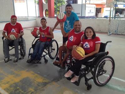 APIB - Jequié pede ajuda para comprar cadeiras de rodas para o Basquete