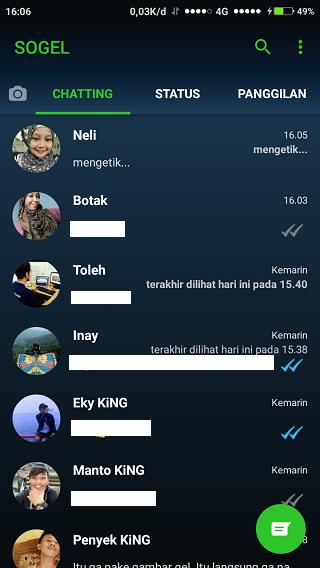 Yo WhatsApp Beranda