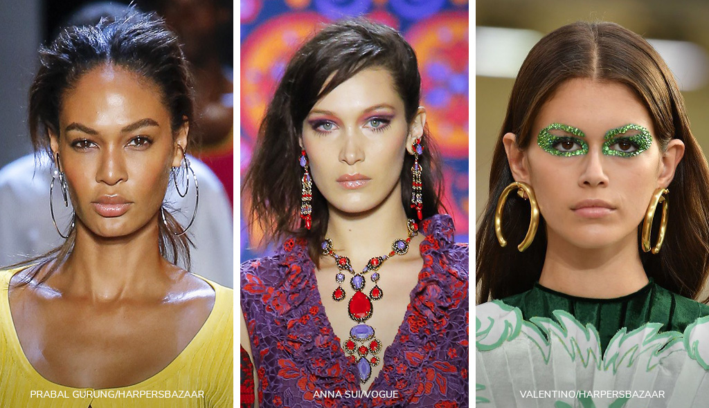Jewelry Trends-Longer Earrings and Hoops