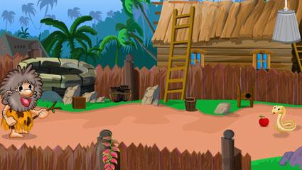 Hungry Caveman Escape