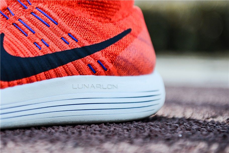 quality design c3b50 a55bc Designers first create a lightweight breathable one-piece Nike Flyknit  upper, in different parts of the use of different densities directly woven  to create ...