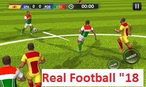 real football 2018 apk and jar download