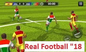 real football 2018 apk and jar download