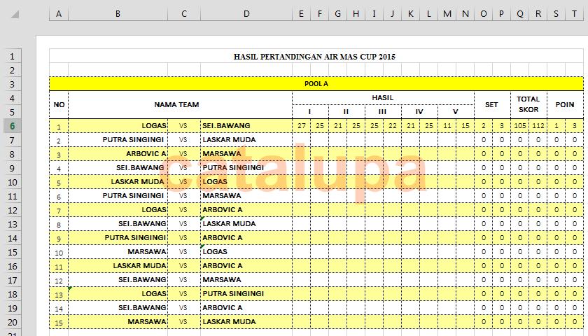 Image Result For Jadwal Klasemen Hasil Pertandingan Dan Video