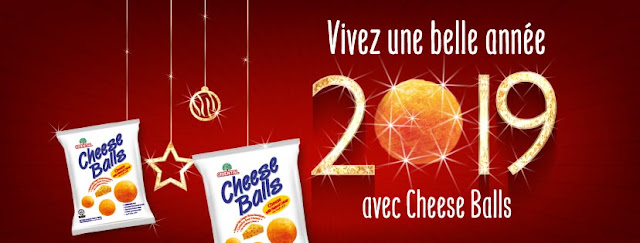 Image de couverture Facebook, Cheese Balls Madagascar, nouvel an 2019