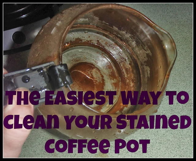 How to Clean Your Coffee Pot - Fort Lauderdale Personal Chef