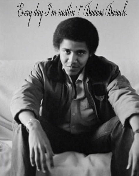 JimmyFungus.com: Decision 2012: The U.S. Presidential ... Obama Badass