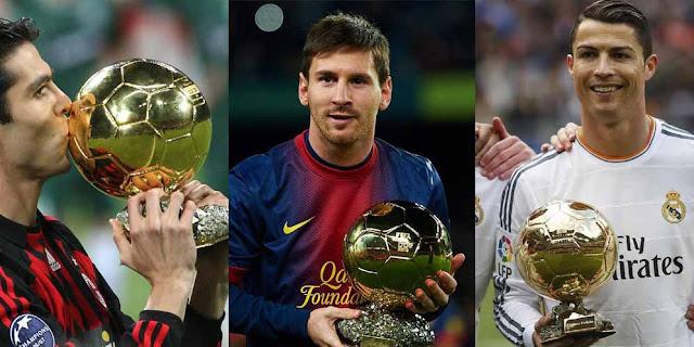 Menutur Kaka Kandidat Peraih Ballon D'or Bukan Messi Atau Ronaldo Tetapi Pemain…