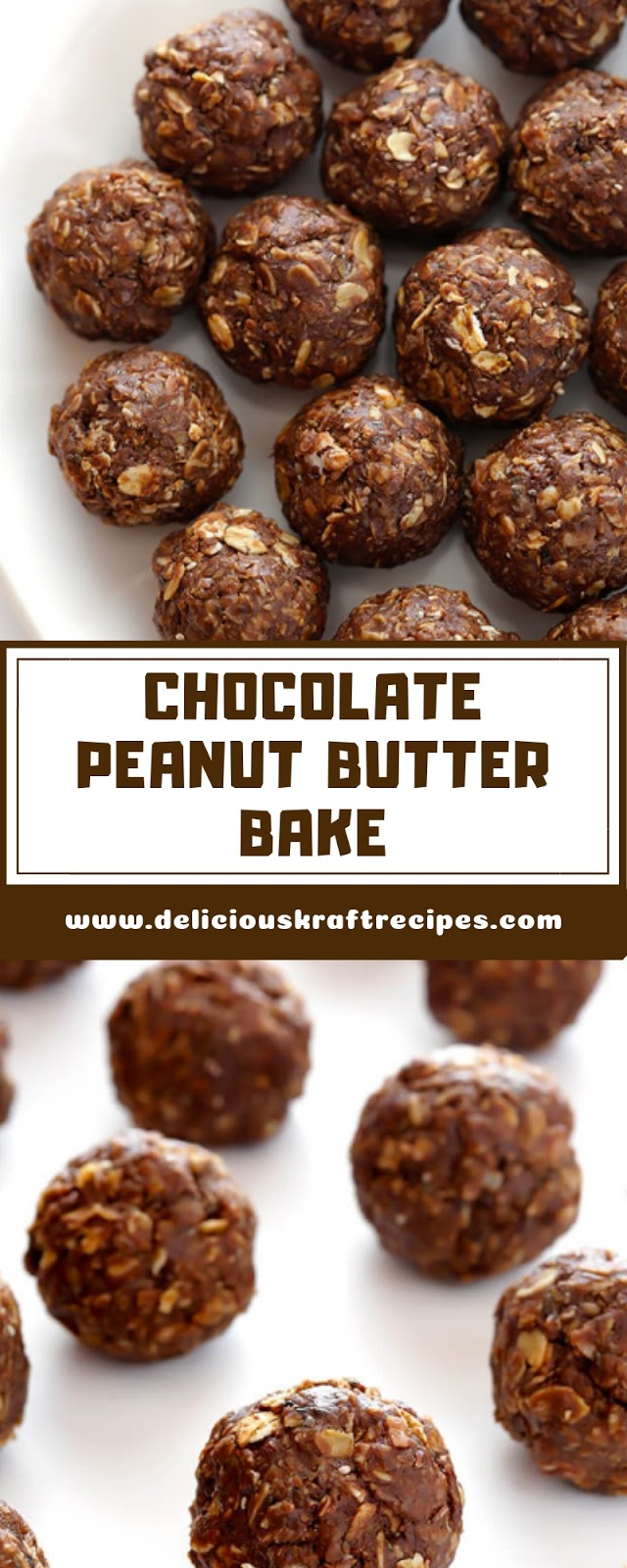 CHOCOLATE PEANUT BUTTER BAKE