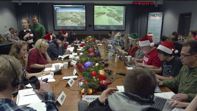 The Pentagon's gross annual Santa tracker snacks Rudolph such as a ballistic missile