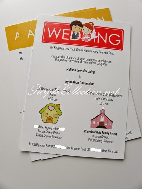 Monopoly Wedding Card, Invitation, Malaysia, church of Holy Family Kajang, modern, personalized, personalized, cute, cartoon, couple, chinese, renaissance hotel, jalan sultan ismail, marriage vows, you're invited, love, envelope, selangor, kuala lumpur, ipoh, perak, penang, kedah, perlis, melaka, seremban, johor bahru, singapore, kuantan, bentong, pahang, terengganu, australia, affordable, online, purchase, buy, sell, portfolio, pinterest, new zealand, victoria, sydney, adelaide, melbourne, canberra, United kingdom, united states of america, peonies, chinese, western, printing, cetak, kad kahwin, murah, sticker, door gift, wedding favour, thank you tag, wedding ring, car rental, wedding decoration, service